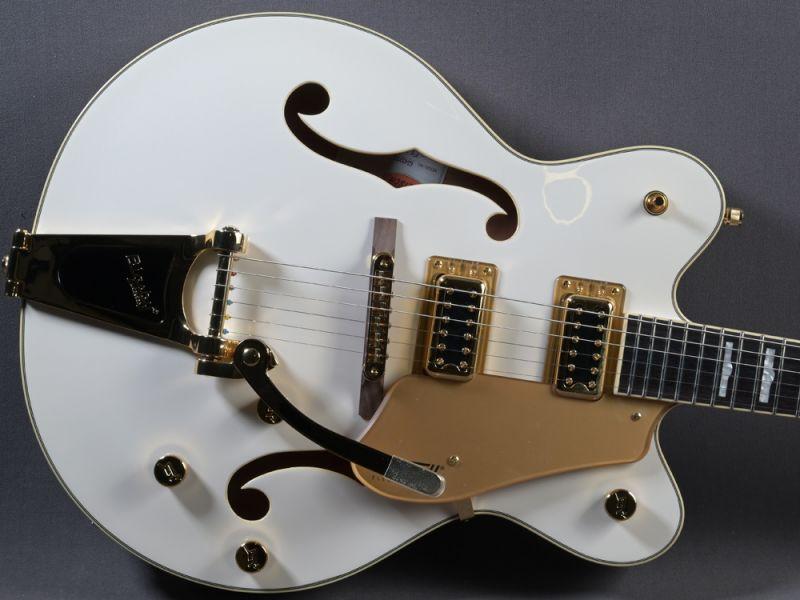 Gretsch G5422TG Electromatic Hollow Body DC w. Bigsby Snowcrest White