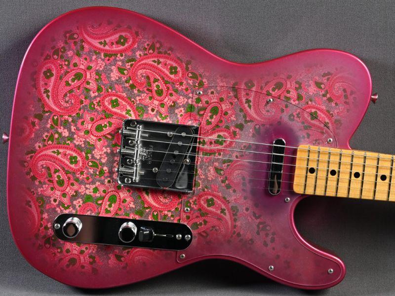Fender Custom Shop Telecaster 1968 Vintage Custom, MN, Pink Paisley NOS