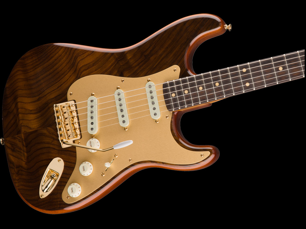 Fender Custom Shop Stratocaster® Artisan Figured Rosewood / Fiji ...
