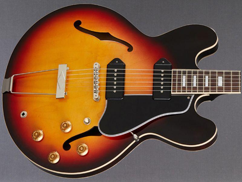 "Gibson ES-330 Slim Harpo ""Lovell"" Vintage Sunset Burst"