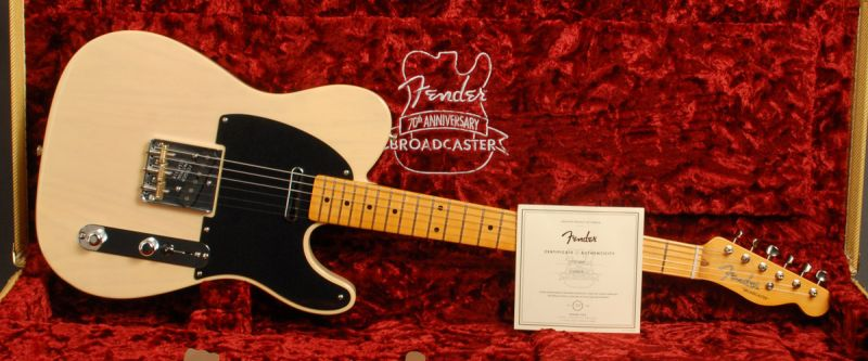 Image result for fender 70th anniversary broadcaster