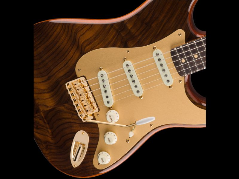Fender Custom Shop Stratocaster® Artisan Figured Rosewood / Fiji ...