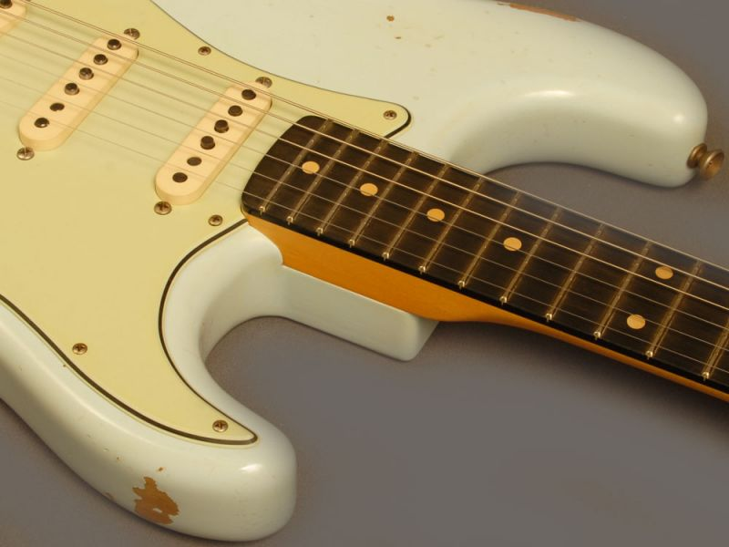 Fender Custom Shop Stratocaster 1960 Relic Ebony SNB